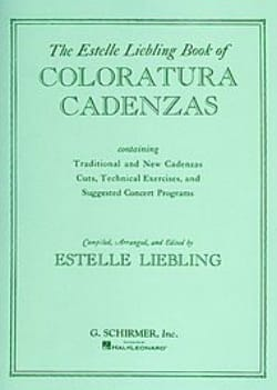 Coloratura Cadenzas. Partition Opéras - laflutedepan