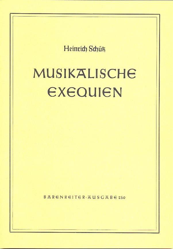 Musikalische Exequien für gemischten Chor und Basso continuo - laflutedepan.com