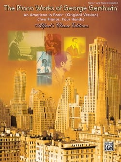 Un Américain A Paris. 2 Pianos GERSHWIN Partition Piano - laflutedepan