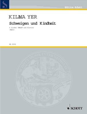 Schweigen und Kindheit Wilhelm Killmayer Partition laflutedepan