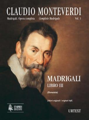 Madrigali Libro 3 - MONTEVERDI - Partition - Chœur - laflutedepan.com