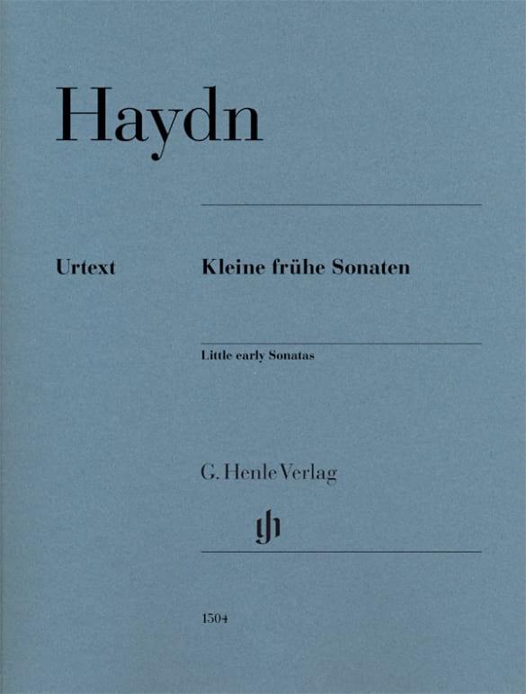 9 Kleine Frühe Sonaten - HAYDN - Partition - Piano - laflutedepan.com