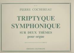 Triptyque Symphonique Sur 2 Thèmes Pierre Cochereau laflutedepan