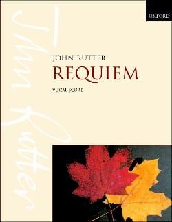 Requiem RUTTER Partition Chœur - laflutedepan