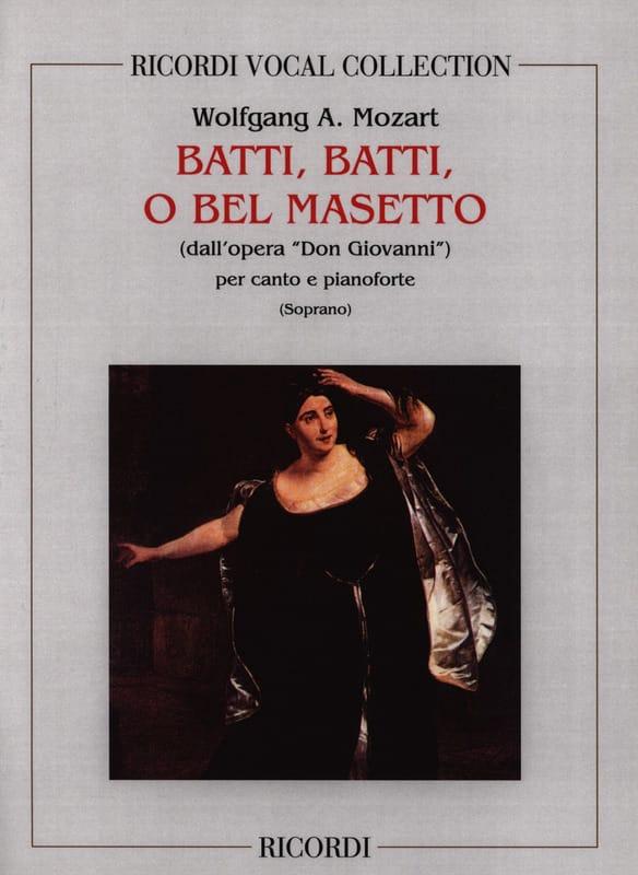 Batti, Batti. Don Giovanni - MOZART - Partition - laflutedepan.com