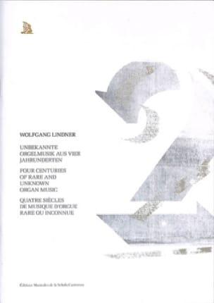 4 siècles de musique d'orgue rare ou inconnue Volume 2 - laflutedepan.com