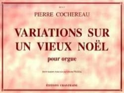 Variations sur un vieux Noël Pierre Cochereau Partition laflutedepan