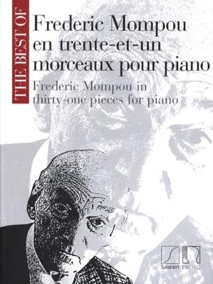 31 Morceaux Federico Mompou Partition Piano - laflutedepan