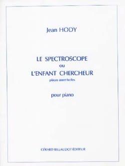 Le Spectroscope ou L'enfant Chercheur Jean Hody Partition laflutedepan