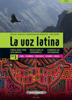 La Voz Latina. Volume 1 Partition Chœur - laflutedepan