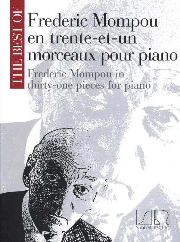31 Morceaux - Federico Mompou - Partition - Piano - laflutedepan.com