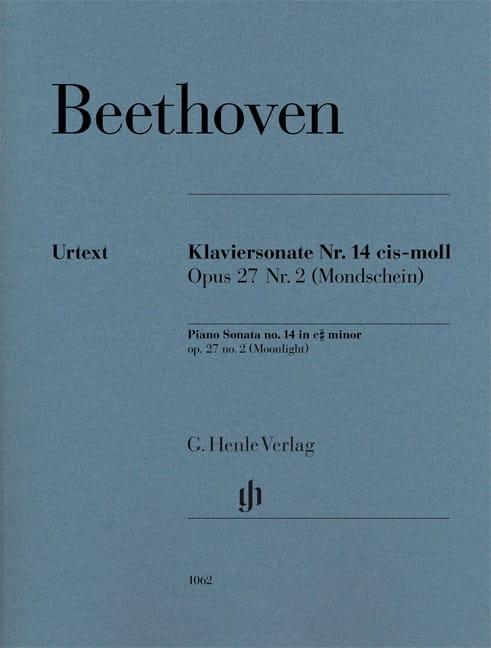 Sonate au Clair de lune - BEETHOVEN - Partition - laflutedepan.com