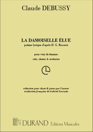 La Damoiselle Elue DEBUSSY Partition Chœur - laflutedepan