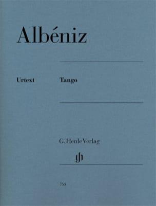 Tango op. 165-2 ALBENIZ Partition Piano - laflutedepan