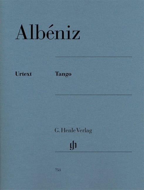 Tango op. 165-2 - ALBENIZ - Partition - Piano - laflutedepan.com