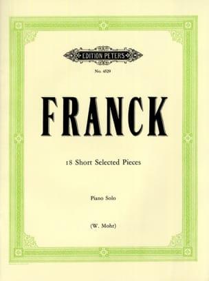 18 Kleine Stücke FRANCK Partition Piano - laflutedepan