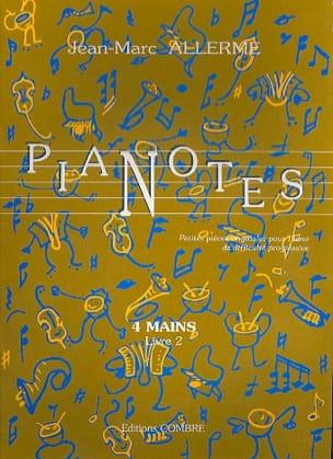 Pianotes 4 Mains Livre 2 Jean-Marc Allerme Partition laflutedepan