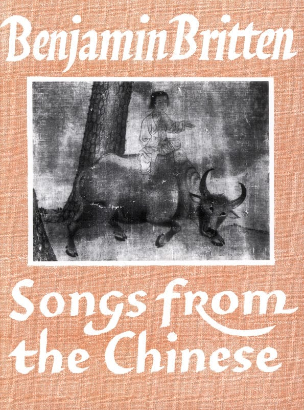 Songs From The Chinese Opus 58 - BRITTEN - laflutedepan.com