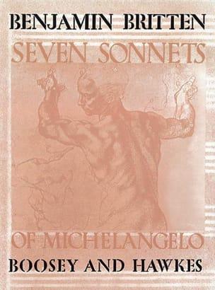 7 Sonnets Of Michelangelo Opus 22 - BRITTEN - laflutedepan.com