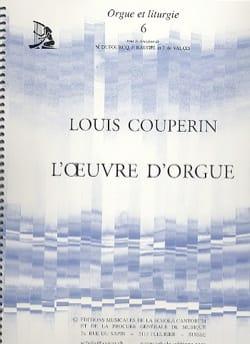 L' Oeuvre D'Orgue Louis Couperin Partition Orgue - laflutedepan
