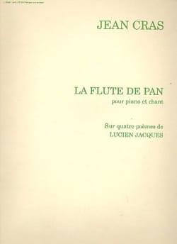 La Flûte De Pan Jean Cras Partition Mélodies - laflutedepan