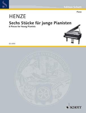 6 Stücke Für Junge Pianisten 1980 Hans W Henze Partition laflutedepan