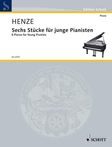 6 Stücke Für Junge Pianisten 1980 - Hans W Henze - laflutedepan.com