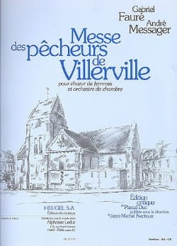 Messe des Pêcheurs de Villerville FAURE - MESSAGER laflutedepan