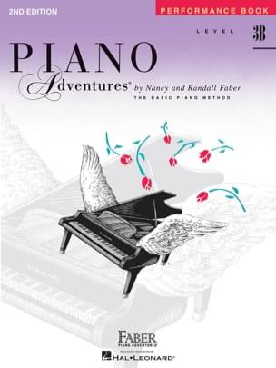 Piano Adventures - Performance Book - 3B Nancy Faber laflutedepan