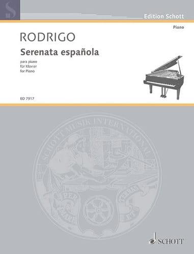 Serenata española 1931 - RODRIGO - Partition - laflutedepan.com