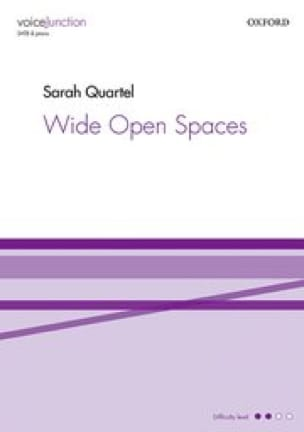 Wide open spaces - Sarah Quartel - Partition - laflutedepan.com