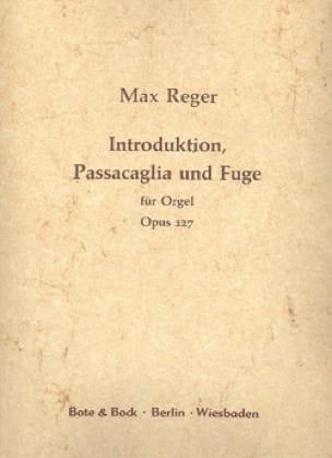 Introduction, Passacaille et Fugue Op. 127 - laflutedepan.com