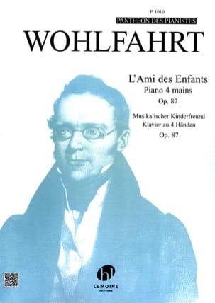 Ami des Enfants Opus 87. 4 Mains Heinrich Wohlfahrt laflutedepan