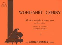 Suite N°1 - 4 Mains Wohlfahrt / Czerny Partition laflutedepan