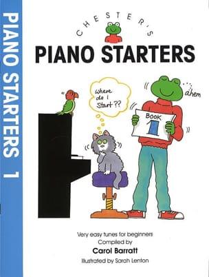 Piano Starters Volume 1 Carol Barratt Partition Piano - laflutedepan