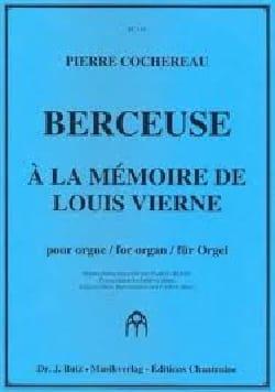 Berceuse Pierre Cochereau Partition Orgue - laflutedepan