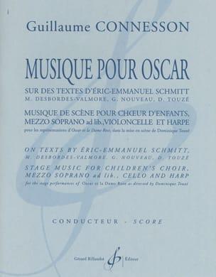Musique pour Oscar CONNESSON Partition Chœur - laflutedepan