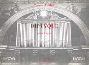 Diptyque - Chantal Auber - Partition - Orgue - laflutedepan.com
