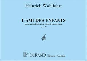 L'ami des Enfants Opus 87. 4 Mains Heinrich Wohlfahrt laflutedepan