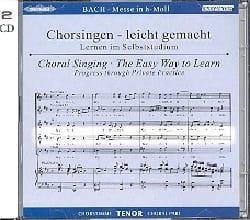 Messe En Si Mineur Bwv 232. 2 CD Ténor CHOEUR BACH laflutedepan
