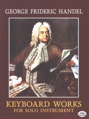 Oeuvres Pour Clavier HAENDEL Partition Piano - laflutedepan