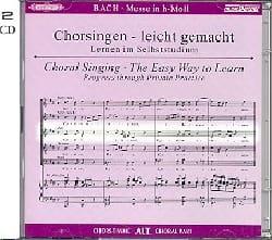 Messe En Si Mineur Bwv 232. 2 CD Alto CHOEUR BACH laflutedepan
