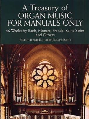 A Treasury Of Organ Music For Manuals Only - laflutedepan.com