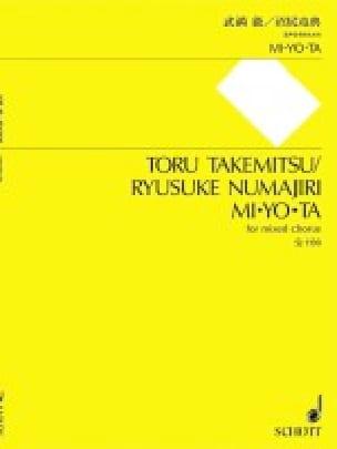 Mi Yo Ta - TAKEMITSU - Partition - Chœur - laflutedepan.com