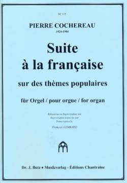 Suite à la Française Pierre Cochereau Partition Orgue - laflutedepan
