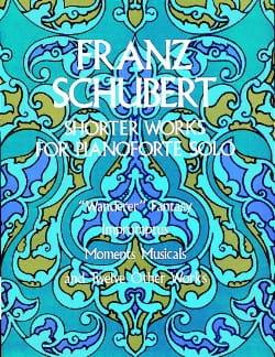Shorter Works For Piano Solo - SCHUBERT - Partition - laflutedepan.com