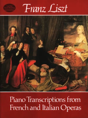 Piano Transcriptions From French And Italian Operas LISZT laflutedepan