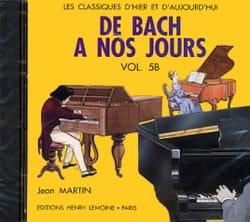 de Bach à nos Jours - Volume 5B - CD DE BACH A NOS JOURS laflutedepan