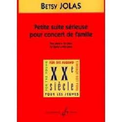 Petite Suite Sérieuse Pour Concert de Famille Betsy Jolas laflutedepan