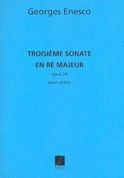 Sonate Opus 24-3 ENESCO Partition Piano - laflutedepan